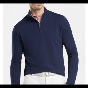 Peter Millar Zip Up Pullover size Medium